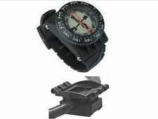 Pro Compass Wrist or Hose mount Oil Filled scuba dive Advanced Navigation Rescue