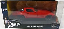 -JADA 1:32 W/B FAST & FURIOUS 8 THE FATE OF THE FURIOUS LEFT'S CHEVY CORVETTE