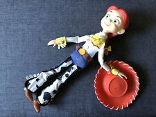 Disney Pixar Toy Story COWGIRL JESSIE Doll Thinkway Toys Fake Pull String
