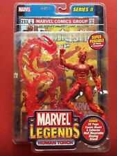 Toybiz Marvel Legends Series II (2) HUMAN TORCH Fantastic Four Johnny Storm