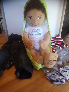 Poupée chiffon garçon tot designs coque poupée Oobicoo vêtements 60 cm