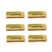 BMW 325i 325is 318ti M3 328i 328is Set Of 6 Door Panel Clip Metal Repair Clips