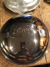1940s 50s??  Ford Hub Caps.  Licensed Product.  2 Pcs New