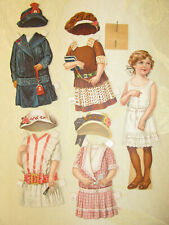 1915 Kaufmann & Strauss Embroidery Paper Doll set 'Sister Ruth'