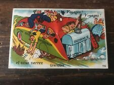 carte postale ancienne humour N 50