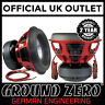 "Ground Zero Plutonium GZPW 15Xmax 15"" 38cm 6000 Watts RMS Car Sub Subwoofer"