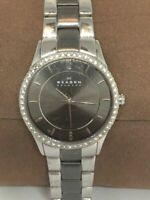 Skagen 347SSMX Women's Two-Tone Stainless Steel Analog Dial Quartz Watch Bb600