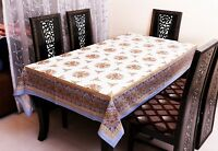 Rectangle Cotton Table Cloth Cover Wedding Birthday Party Tablecover Floral