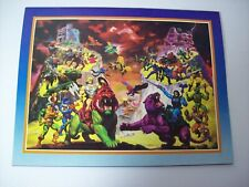 Lay?s Potato Chips He-Man Masters of the Universe 1986 Calendar Vintage NOS