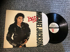 Michael Jackson Lp Bad 1987 Epic V. G Original Press