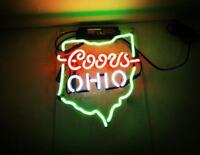 "New Rainier Beer Walker Neon Light Sign 24/""x20/"" Real Glass Bar Decor Man Cave"