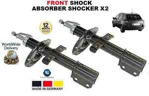 FOR RENAULT CLIO GRANDTOUR ESTATE 2008->ON FRONT SHOCK ABSORBER SHOCKER X2