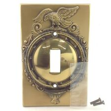 BrassSmith House - SP-1B - Federal Eagle 1 Switch Plate Cover