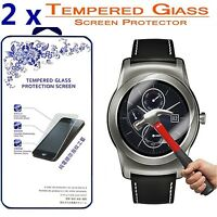 2x For LG G Watch Urbane W150 Ballistic Tempered Glass Screen Protector