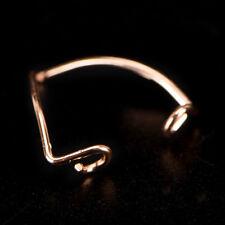 "Women Lady Simple Retro ""V"" Open Toe Ring Adjustable Foot Beach Jewelry E&F"
