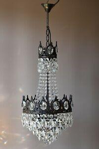 Antique French Vintage Crystal Chandelier Pendant Home Ceiling Lights Sale Lamp