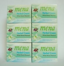 6 x  MENA Extra Whitening Herbal Mineral Renewal Moisturizer Cream 3g.USA Seller