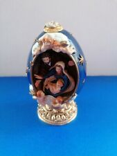 """House of Faberge """"The Nativity"""" of Life of Christ Collector Egg Numbered Easter"""