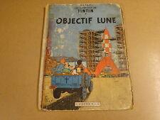 BD HC EO 1953 / TINTIN - OBJECTIF LUNE