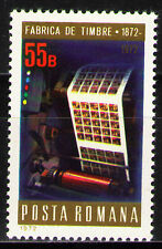 Romania 1972 Sc2347  Mi3050  1v  mnh  Centenary of the stamp printing office.