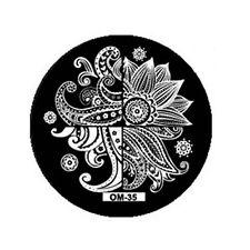 Stamping Schablone Stempel  Muster Paisley Fullcover  OM-35