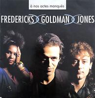 "Fredericks Goldman Jones 7"" À Nos Actes Manqués - France (VG+/EX)"