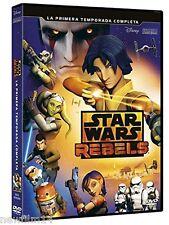 STAR WARS REBELS LA PRIMERA TEMPORADA COMPLETA 1ª DVD NUEVO ( SIN ABRIR )