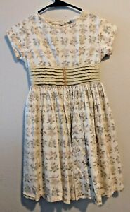 Vintage 1950's Cinderella Inspired By Shirley Temple Girls Size S Fruit Dress