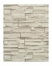 York Travertine Ledge rock Textured Wallpaper-Double roll