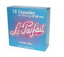 Capsule pour terrine Familia Wiss °82MM /12 LE PARFAIT