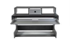 Zaor Miza 88 | Studio Workstation Desk | Titanium Wengé Dark Grey