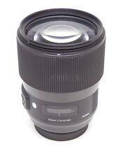 Sigma Art 135mm F1.8 DG HSM Lens for Canon (Black) Open Box Demo