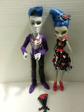 Monster high loves not dead slo mo7 ghoulia yelp / 2 pack