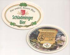 """Schladminger Bier - Bierdeckel """"Braugarantie"""" - V 2 """"Das andere, bessere Bier"""""""