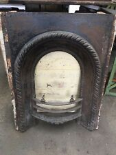 Reclaimed Victorian Cast Iron Fire Insert WEST YORKSHIRE £70 !!