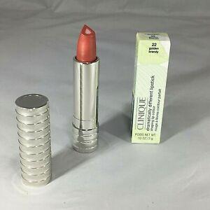 Clinique Dramatically Different Lipstick 22 Golden Brandy .10oz/3g NIB
