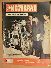 Zeitschrift Das Motorrad 1953 Test RUMI Sport+Scooter Zündapp -Elastic, NSU Max