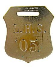 1905 L.H.S. '05 High School watch fob Seattle ?
