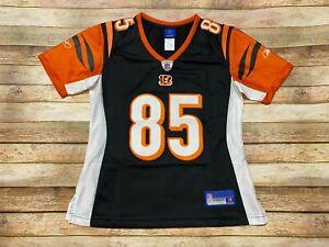 Reebok CINCINATTI BENGALS Jersey CHAD JOHNSON OCHO NFL Football WOMENS SMALL