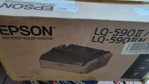 Epson LQ-590 II Impact Printer - Black