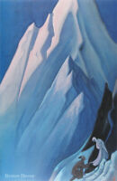 """28/"""" PRINT Song of Morning by N.Roerich,1920 MODERN MUSEUM ART ANIMAL PICTURE"""