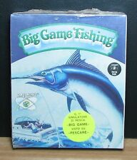 BIG GAME FISHING - Commodore 64 - NUOVO NEW OLD STOCK SEALED - 1991 Vintage