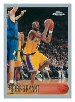 1996-97 Topps Chrome #138 Kobe Bryant Rookie Los Angeles Lakers Reprint