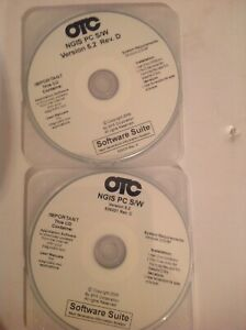 OTC GENISYS NGIS SOFTWARE --2--VERSION 5.2 D & 5.2C--SOLD AS A LOT