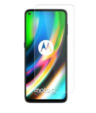 For Motorola Moto G9 Plus Tempered Glass Screen Protector Case Friendly