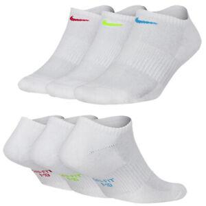 Nike Performance Cushioned No Show Women's Tennis, Sports Socks 3 Pack SX7179