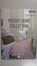 Unique Pattern Book #103 Merino Home Collection Patons & Cleckheaton