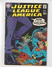Justice League of America #75/DC Comic Book/1st Dinah Lance/VG-