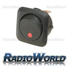 LED Rosso Illuminato Rocker Interruttore ON/OFF 12 V 25 A LUCE Dash per Auto Furgone