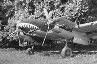 WWII B&W Photo German Luftwaffe Bf110 Me110 in 1940 World War Two / 6082